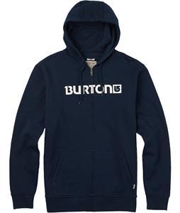 Burton Logo Horizontal Full Zip Hoodie