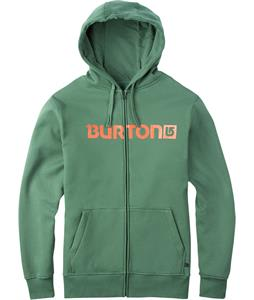 Burton Logo Horizontal Full-Zip Hoodie Duck Green