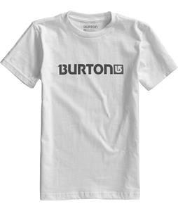 Burton Logo Horizontal T-Shirt Stout White