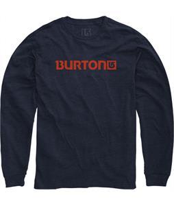 Burton Logo Horizontal Recycled L/S T-Shirt