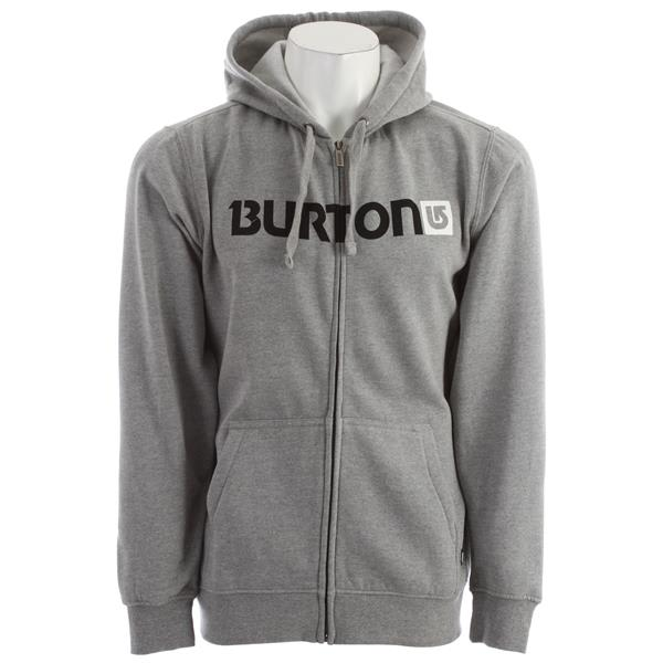 Burton Logo Horizontal Fullzip Tsa Hoodie