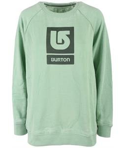 Burton Logo Vertical Fill Crew Sweatshirt
