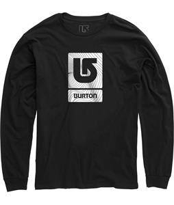Burton Logo Vertical Fill L/S T-Shirt