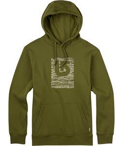 Burton Logo Vertical Fill Pullover Hoodie