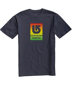 Burton Logo Vertical Fill T-Shirt Eclipse