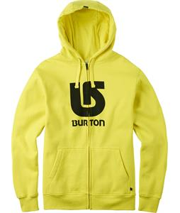 Burton Logo Vertical Full-Zip Hoodie Green Sheen