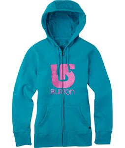 Burton Logo Vertical Full-Zip Hoodie Shore Break