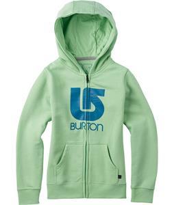 Burton Logo Vertical Full-Zip Hoodie Sprucetone