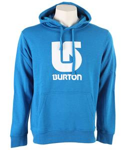 Burton Logo Vertical Hoodie Heather Bombay