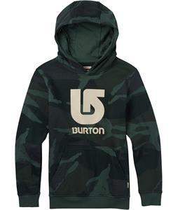 Burton Logo Vertical Pullover Hoodie