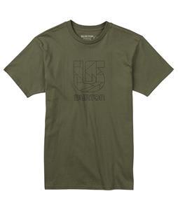 Burton Logo Vertical Slim T-Shirt