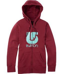 Burton Logo Vertical Full-Zip Hoodie Zinfandel