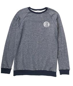 Burton Lucas Crew Sweatshirt Heather Eclipse