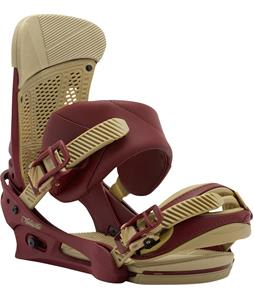 Burton Malavita Re:Flex Snowboard Bindings Oxblood