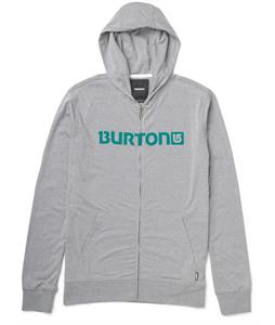 Burton Maxwell Full-Zip Hoodie Heather Pewter