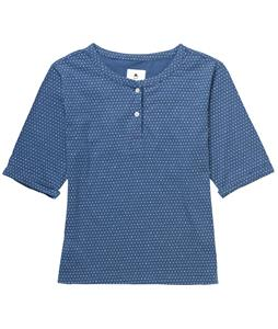 Burton Mayfair Shirt Team Blue Diamond Dot