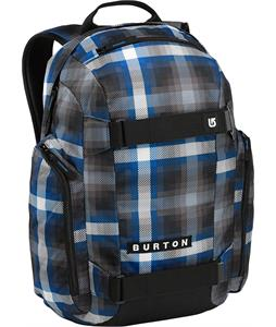 Burton Metalhead Backpack Cobalt Springer Plaid 26L