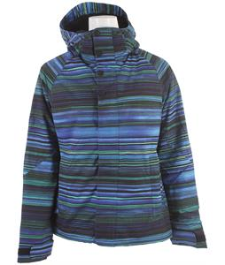 Burton Method Snowboard Jacket Cornflower Hi Tide Stripe