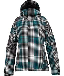 Burton Method Snowboard Jacket True Black Check Plaid