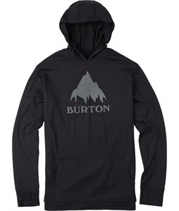 Burton Midweight Pullover Hoodie Baselayer Top True Black