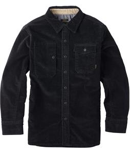Burton Mill L/S Shirt True Black Corduroy