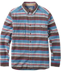 Burton Mill L/S Shirt Blue Aster Stripe