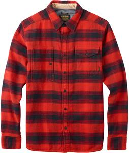 Burton Mill L/S Shirt Flame Winthrop Plaid