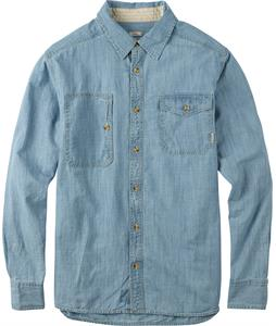 Burton Mill L/S Shirt Light Chambray