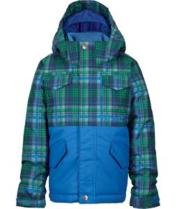 Burton Minishred Fray Snowboard Jacket Mascot Mason Plaid/Mascot 4T