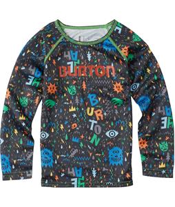 Burton Minishred Lightweight Baselayer Set Top Yeah! Print 3T