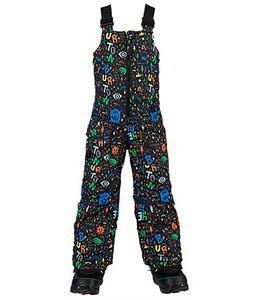 Burton Minishred Maven Bib Snowboard Pants Yeah! Print