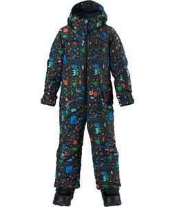 Burton Minishred Striker One Piece Suit Yeah! Print 4T