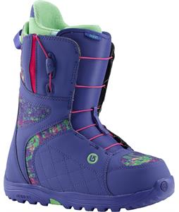 Burton Mint Snowboard Boots Purple Print