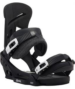 Burton Mission Est Snowboard Bindings Black/Wool