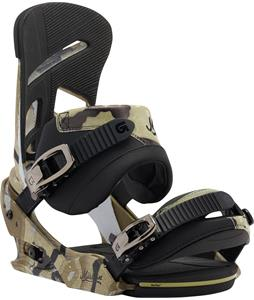Burton Mission Re:Flex Snowboard Bindings Camo Toe