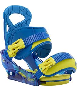 Burton Mission Smalls Re:Flex Snowboard Bindings Next Level Blue