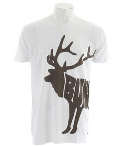 Burton Moose Slim T-Shirt Bright White