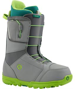 Burton Moto Snowboard Boots Gray/Green