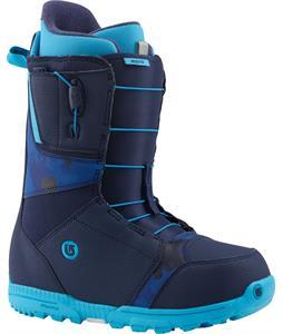 Burton Moto Snowboard Boots Blue