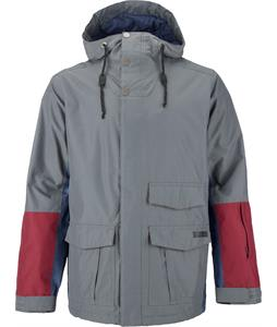 Burton Northfield Snowboard Jacket Bog/Team Blue/Crimson