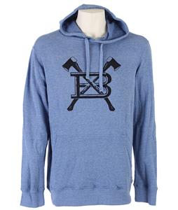 Burton Old Faithfull Pullover Hoodie Heather Cobalt Blue