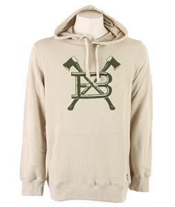 Burton Old Faithfull Pullover Hoodie Heather Haze