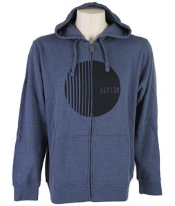 Burton Orion Full-Zip Hoodie Heather Team Blue