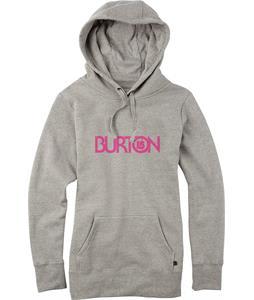 Burton Overspray Pullover Hoodie Gray Heather