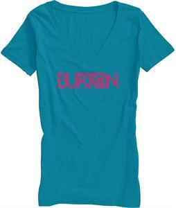Burton Overspray Recycled Vneck T-Shirt