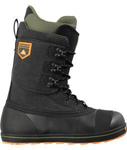 Burton Ox Snowboard Boots Black/Army Green
