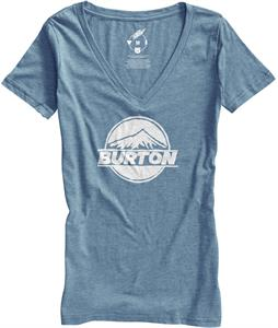 Burton Peaked Recycled V-Neck T-Shirt