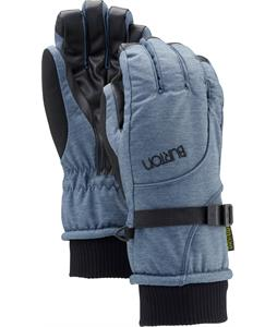 Burton Pele Gloves Blue Denim