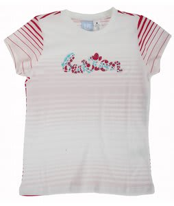 Burton Peppermint T-Shirt Blank White