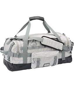 Burton Performer 50L Duffel Bag Gray Heather Diamond Ripstop 50L